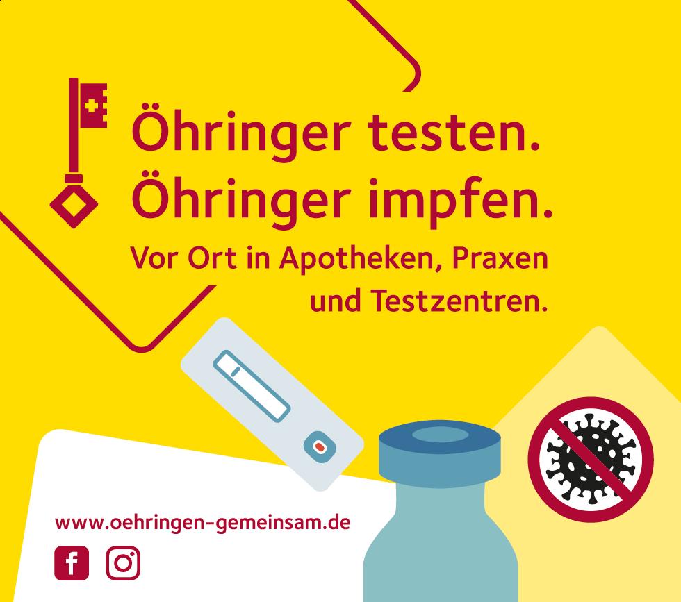 Testen und Impfen in Öhringen